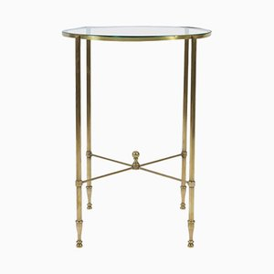 Brass Side Table, 1950s
