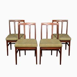 Chaises de Salon Mid-Century en Afromosia par John Herbert pour A. Younger Ltd., Set de 4