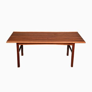 Mid-Century Danish Rosewood Coffee Table from Anton Kildeberg Møbelfabrik