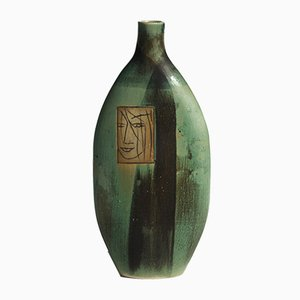 Skandinavische Vase von Pirjo Nylander, 1960er