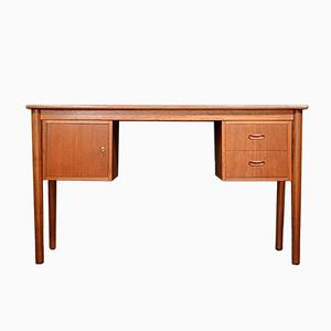 Mid-Century Danish Teak Desk from P.B.J. Mobelfabrik