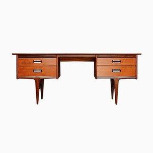 Mid-Century Schreibtisch aus Afromosia von Times Furnishing