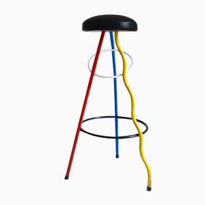 Duplex Bar Stool by Javier Mariscal for BD Barcelona, 1983