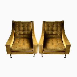 Mid-Century Italian Armchairs, 1960s, Set of 2