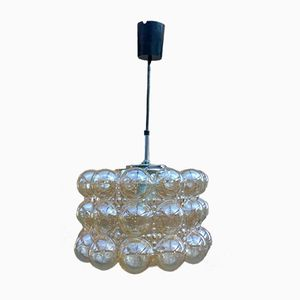 Bubble Glass Pendant by Helena Tynell for Limburg, 1970s
