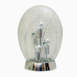 Lámpara era espacial vintage en forma de huevo de Doria Leuchten