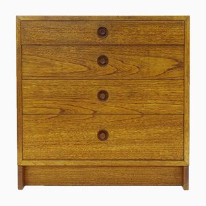 Scandinavian Oak Chest of Drawers by Karl Anderson for Borge Mogensen, 1960s