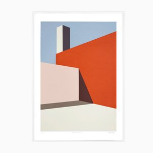 Structure 01 Screen Print by Archidreamer, 2018