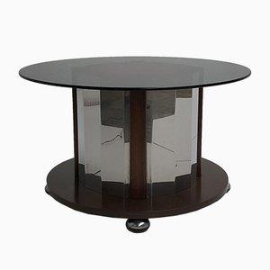 Italian Illuminated Side Table, 1950s