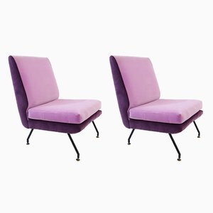 Vintage Italian Cocktail Chairs, Set of 2