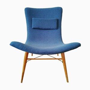 Mid-Century TV Chair by Miroslav Navratil for Cesky Nabytek