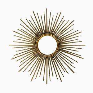 Mid-Century Sunburst Mirror from Chaty Vallauris