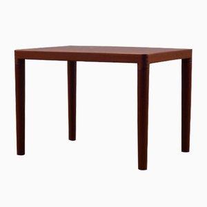 Tavolino da caffè rettangolare in teak di H.W. Klein per Bramin, anni '60