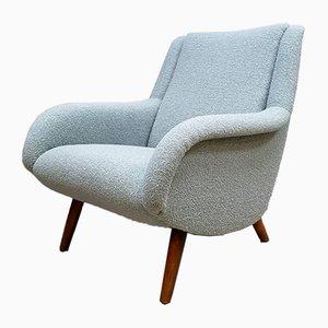 Vintage Sessel in Blau