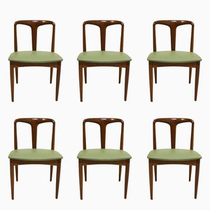 Mid-Century Juliane Teak Dining Chairs by Johannes Andersen for Uldum, Set of 6