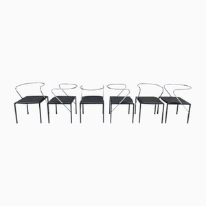 Apple Honey Chairs by Shiro Kuramata for Pastoe, Set of 6