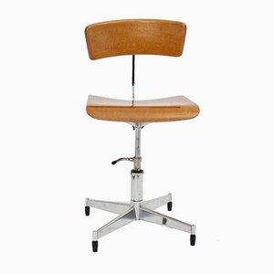 Chaise de Bureau Pivotante par Jorgen Rasmussen, Danemark, 1950s