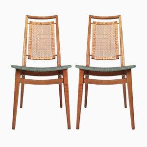 Moderne Mid-Century Stühle, 1950er, 2er Set
