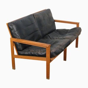 Model Capella Teak Sofa by Illum Wikkelsø for Niels Eilersen, 1960s