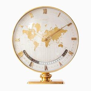 World Time Tischuhr von Heinrich Möller für Kienzle, 1950er