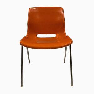 Italienische Vintage Stühle, 4er Set
