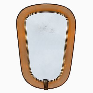 Vintage Back-Lit Wall Mirror