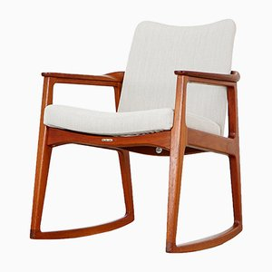 Rocking Chair by Sigvard Bernadotte for France & Søn, 1950s