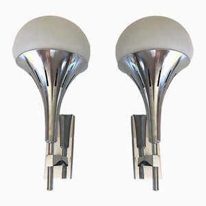 Sconces by Gaetano Scolari, 1970s, Set of 2