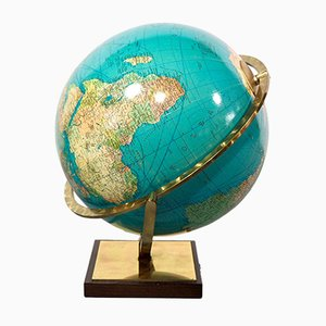 Globe Columbus Mid-Century de Verlag Paul Oestergaard