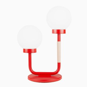 Little Darling Table Lamp in Strawberry Red by Maria Gustavsson for Swedish Ninja