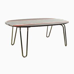 Tavolo con gambe a graffetta di Ilse Möbel, anni '50