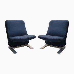 Concorde F780 Lounge Chairs by Pierre Paulin for Artifort, 1960s, Set of 2