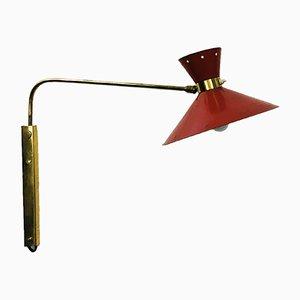 Lámpara de pared diábolo, años 50