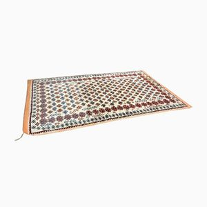 Mid-Century Moroccan Handmade Wool Rug