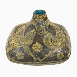 Vase aus Keramik von Marcello Fantoni, 1960er