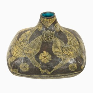 Vaso in ceramica di Marcello Fantoni, anni '60