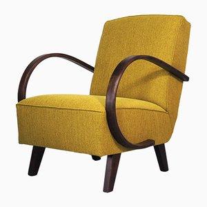 Art Deco Lounge Chair by Jindřich Halabala