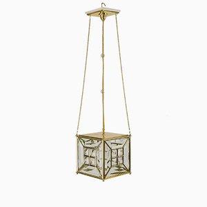 Lampada a sospensione Art Nouveau, anni '10