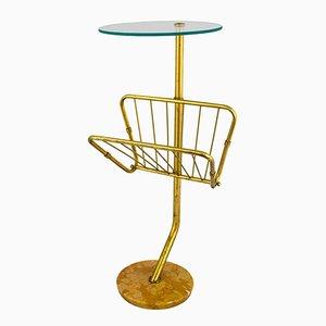 Table Basse avec Porte-revue, 1950s