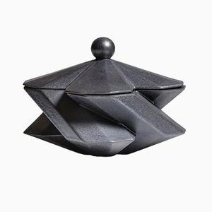 Fortress Treasury Box Iron Ceramic by Bohinc Studio