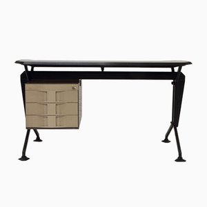 Mid-Century Arco Desk by Studio BBPR for Olivetti