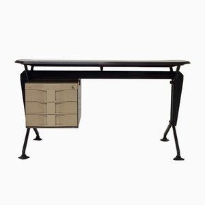 Mid-Century Arco Desk by Studio BBPR for Olivetti