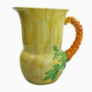 British Jug by Clarice Cliff for Newport Pottery, 1930s
