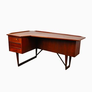 Teak Desk by Peter Løvig Nielsen for Løvig, 1966
