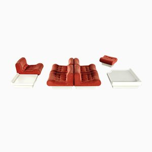 Vintage Sofalette Living Room Set and Tables by Otto Zapf for Vitsœ