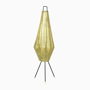 Lampada da tavolo Mid-Century tripode Cocoon di H. Klingele per Artimeta