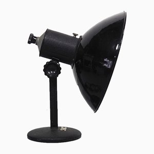 Industrielle Vintage Bauhaus Fotografie Tischlampe von Elektrosvit
