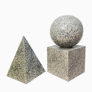 Geometrisches Keramik Set