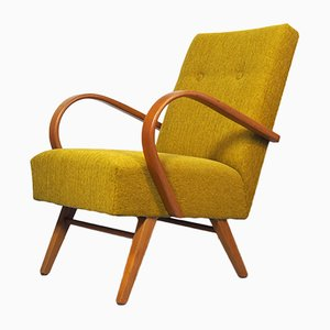 Mid-Century Lounge Chair by Jindřich Halabala for UP Závody