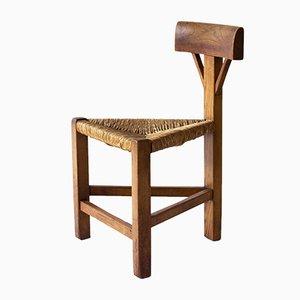 Dreieckiger Mid-Century Stuhl
